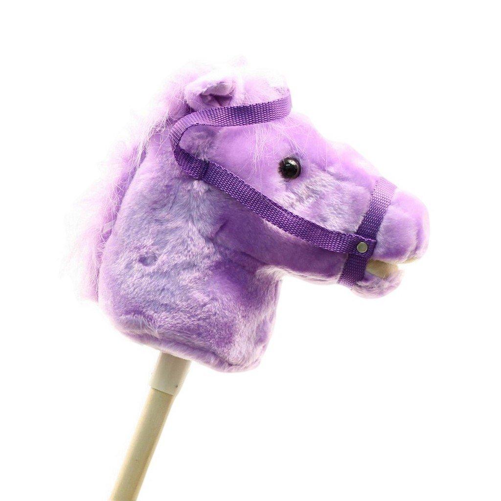 MandF Western Stick Horses Purple Horse