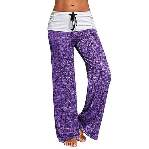 Uiophjkl Pantalones de Yoga Pantalones de Yoga Womens Comfy ...