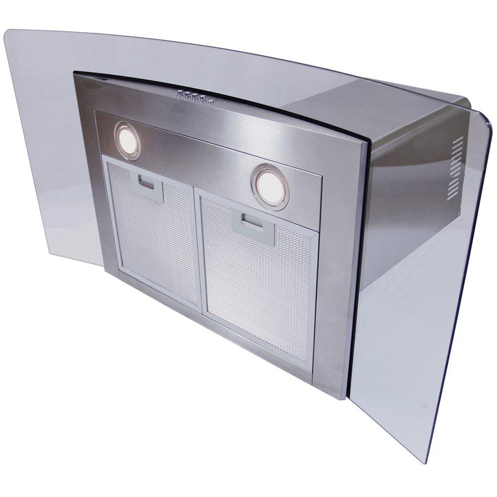 Amazon.com: 35.4 inch eléctrico Campana/900 mm. vidrio ...