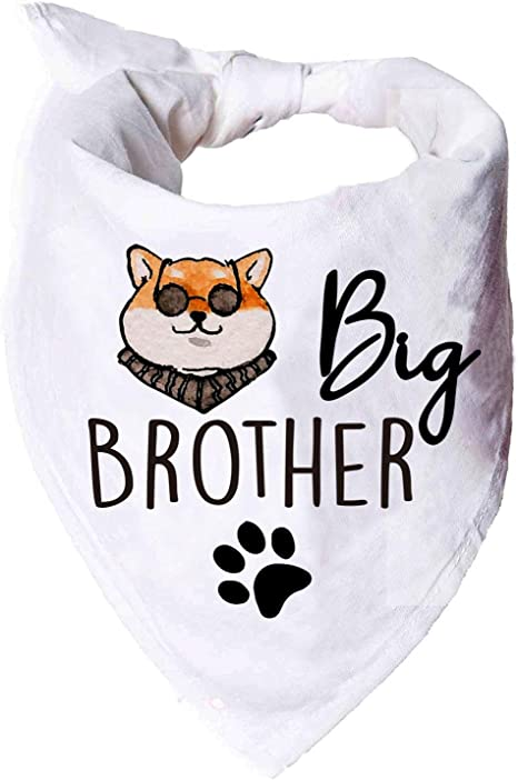 Big Brother Dog Bandana Pregnancy Announcement Dog Bandana Collar Pet Bandana Dog Big Brother Bandana Big Brother Dog Bandana Photo Prop