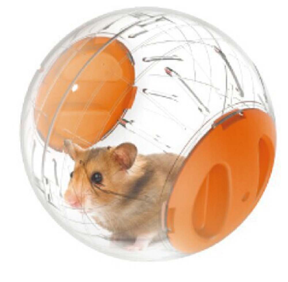 Running Wheel-About Mini 4.8 inch Small Animal Hamster Run Exercise Ball 2 Pieces Ramdon Color By PetsMostHome