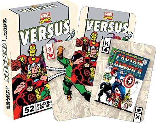 マーベルコミック52トランプのレトロなセット対   (Marvel Versus retro cards nm)