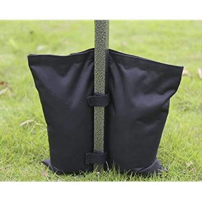 Cross Land Wateproof Weight Bags for Pop up Canopy Tent Sand Bags for Instant Outdoor Sun Shelter Canopy Legs (4 PCS) : Garden & Outdoor
