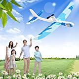 Yansion Upgraded Paper Foam Airplane Super Capacitor Electric Hand Throwing Free-flying Glider DIY Airplane Model Education toys