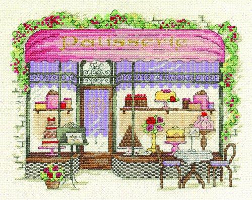 - DMC Patisserie Cross Stitch Kit