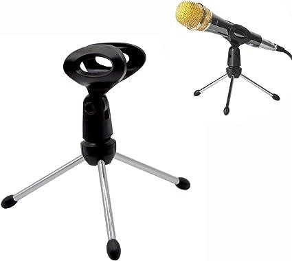 Trípode de mesa para Micro/Soporte de micrófono de escritorio ...