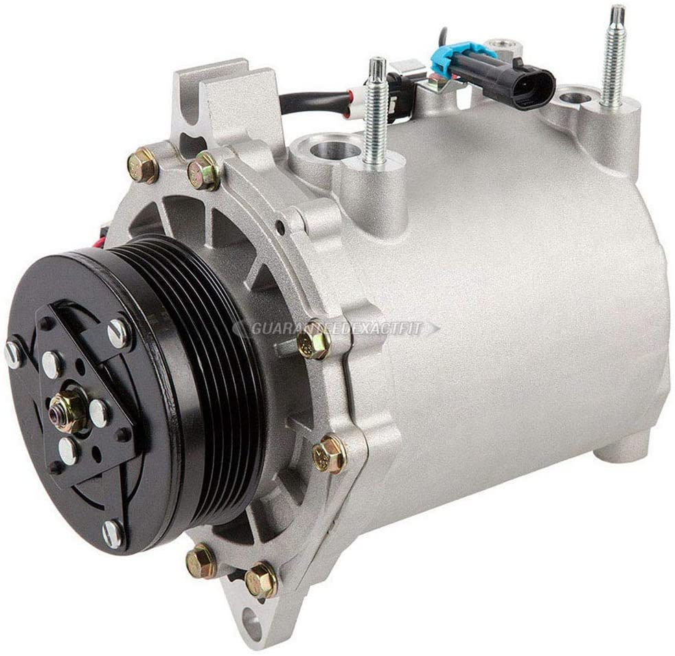 BuyAutoParts 60-81240RK NEW For Cadillac Seville 1998-2004 AC Compressor w//A//C Repair Kit