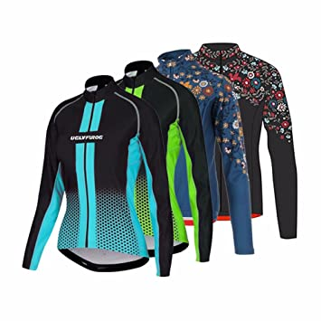 Uglyfrog 2017 Winter Bike Shirt Women Sports Cycling Long Sleeves Cycling  Jerseys Bike Shirts Bicycle Triathon d4a6150de