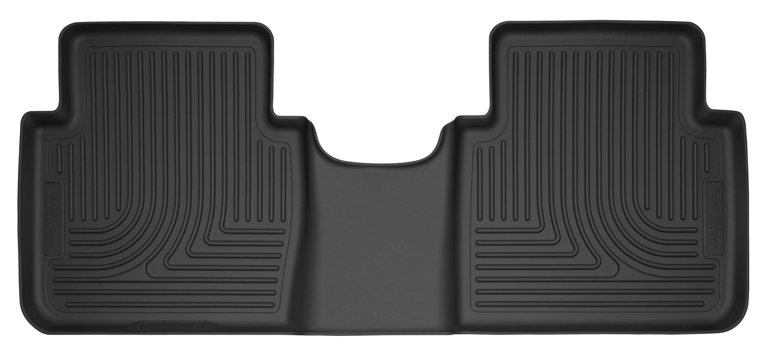 Fits 17-18 CR-V Husky Liners 52621 Black 2nd Seat Floor Liner