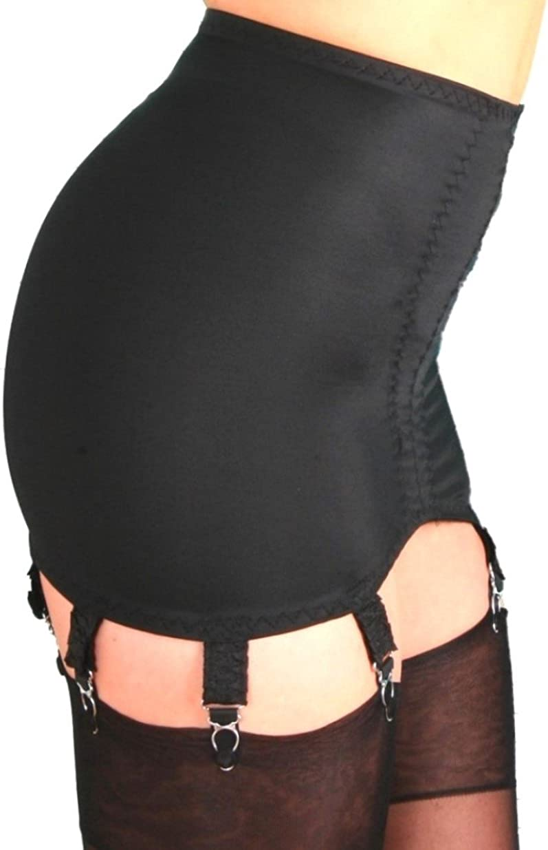 Premier Lingerie 8 Strap Lycra Shapewear Girdle for Stockings (PLg8) [USA] at  Women's Clothing store