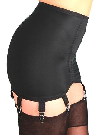 aa79796c5b9 Premier Lingerie 8 Strap Lycra Shapewear Girdle for Stockings (PLg8)  USA   at Amazon Women s Clothing store