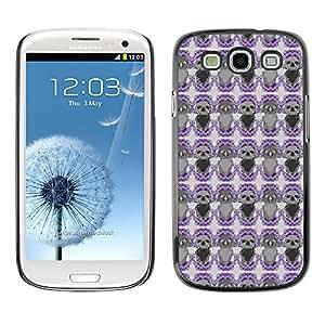 iKiki-Tech Estuche rígido para Samsung Galaxy S3 - Black Circle