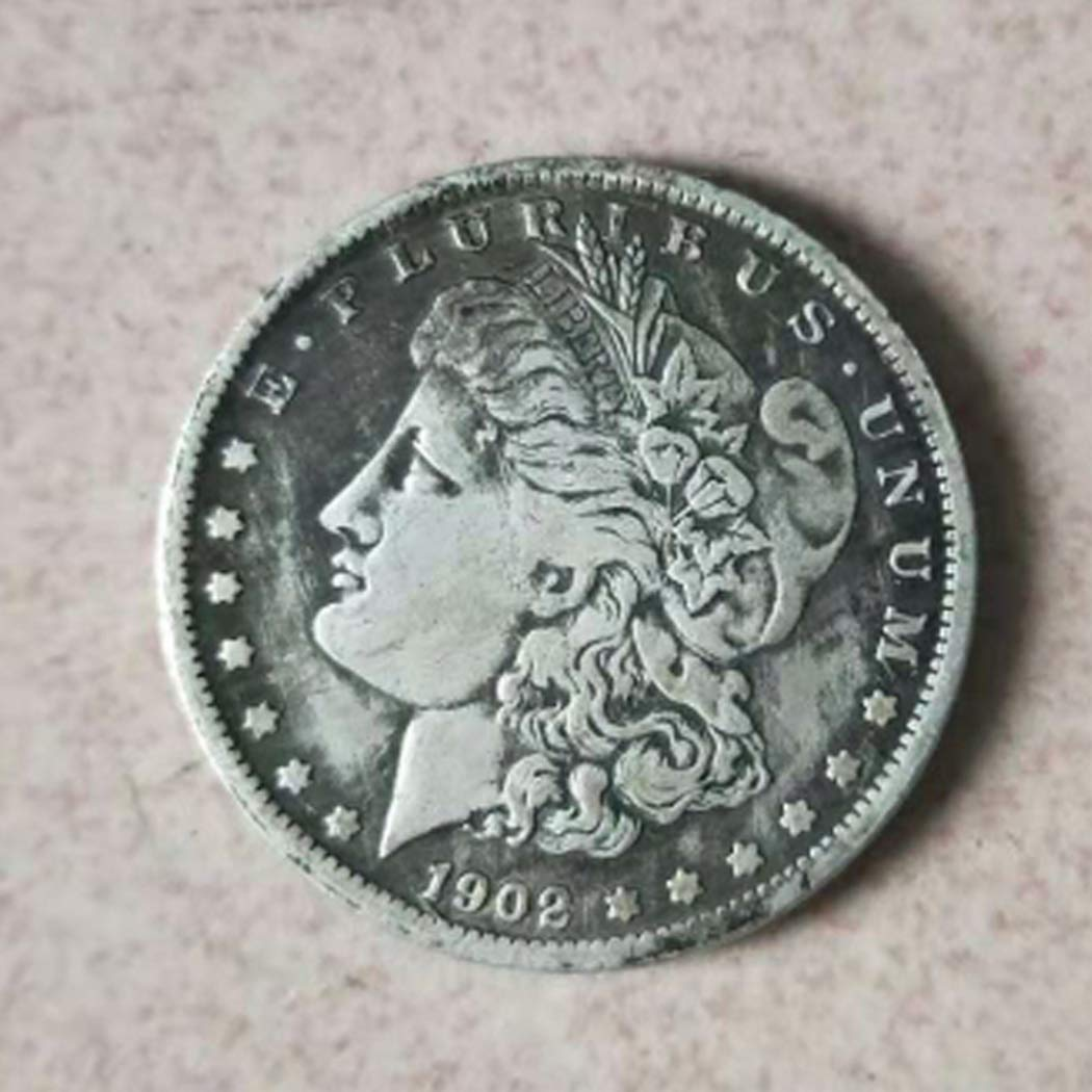 DDTing Best Morgan US Dollars-1902 Old Coin Collecting- Uncirculated Great American Coin - US Dollar USA Old Original Pre Morgan Dollar goodService