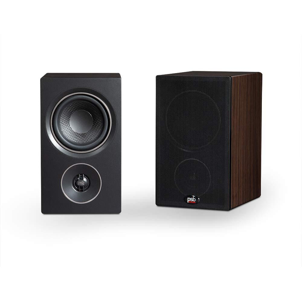 Parlante : PSB Alpha P3 Compact Bookshelf Speaker - Walnut