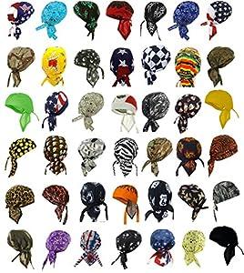 Amazon Com Doo Rags Head Wraps 12 Assorted Designs