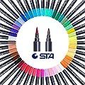 STA Watercolor Brush Pens Art Markers