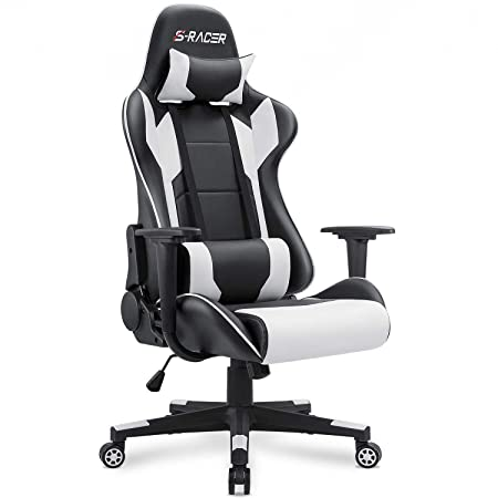 Best Gaming Chairs 2020.Homall Gaming Chair Office Chair High Back Computer Chair Pu Leather Desk Chair Pc Racing Executive Ergonomic Adjustable Swivel Task Chair With