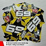 Kungfu Graphics Custom Decal Kit for Kawasaki KX 85