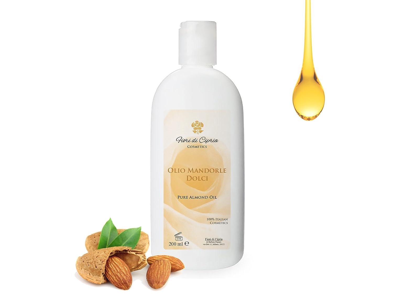Aceite De Almendras Dulces - Es Eudérmico Con Acción Emoliente, Suavizante Y Calmante. - Producto Profesional (Centros De Belleza Y Farmacias) - 200 ml: ...