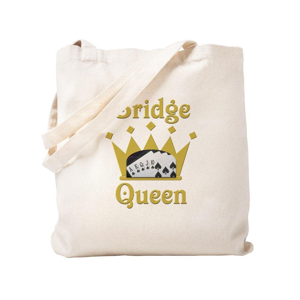 CafePress – ブリッジQueen – ナチュラルキャンバストートバッグ、布ショッピングバッグ S ベージュ 0495231270DECC2 B0773V6FJG S