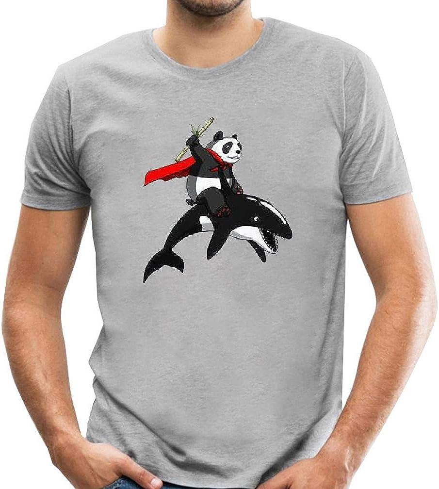 Mantshirt - Camiseta de Manga Corta para Hombre, diseño de Ballena de Dibujos Animados - Gris - Small: Amazon.es: Ropa y accesorios