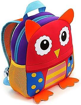 Mochilas Guarderia Pequeños Para Niños y Niñas, AOBETAK Cute 3d ...