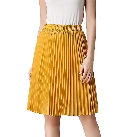 Faldas Mujer Verano Elegantes Cintura Alta Falda Niñas Ropa ...