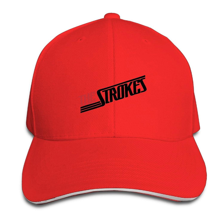 101dog Strokes Band Logo Unisex Adjustable Baseball Ball Cap Hat Ash