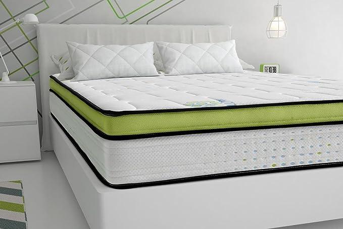 Sleepens Colchón de HR Espumación de alta densidad, alto - 27 cm, cama de 90 cm: Amazon.es: Hogar