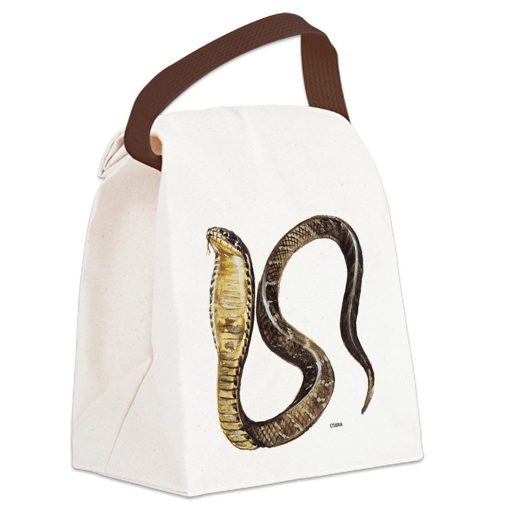 CafePress - Cobra Snake Canvas Lunch Bag - Canvas Lunch Bag with Strap Handle