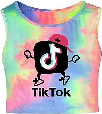 Lady Bug TIK Tok Tank Tops TIK Tok Print Chaleco Camiseta Música TIK Tok Tie-Dye: Amazon.es: Ropa y accesorios