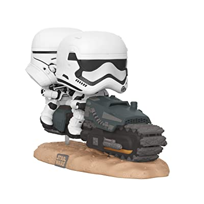Funko Pop! Movie Moments Star Wars: Episode 9, Rise of Skywalker - First Order Tread Speeder: Toys & Games