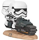 Funko 39915 Star Wars Episode 9 First Order Tread Speeder 9 Pop Vinyl Figure Deluxe, Multicolour