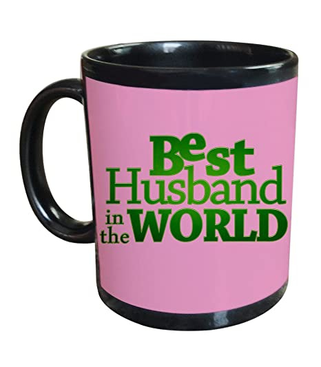 Buy Tied Ribbons Best Husband In The World Black Coffee Mug A Best
