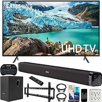 Amazon Com Samsung Un65ru7100 65 Inch Ru7100 Led Smart 4k