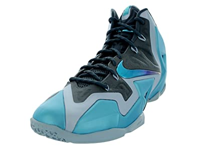 best service 55a98 2ebb3 Nike Lebron XI Gamma Blue Men's Basketball Shoe
