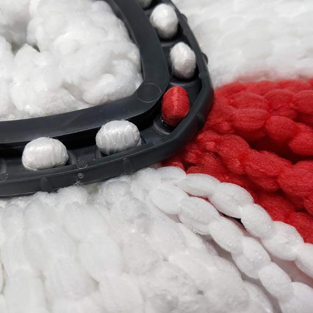 villeur Durable Washable Soft Spin Mop Refill Home Mop Head Steam Mops