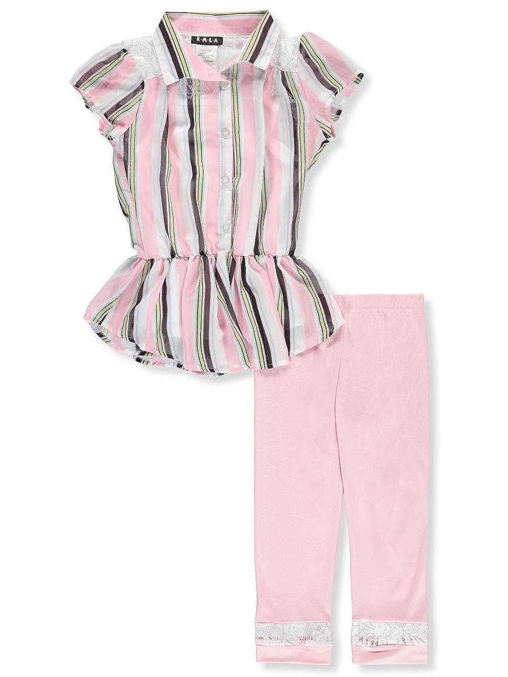 RMLA Girls 3-Piece Leggings Set Outfit