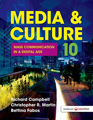 Edition Digital Book - Media & Culture: Mass Communication in a Digital Age