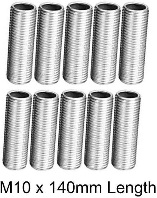 tube luminescent Tube de filetage M10 x 1 m tube en fer galvanis/é 1 m