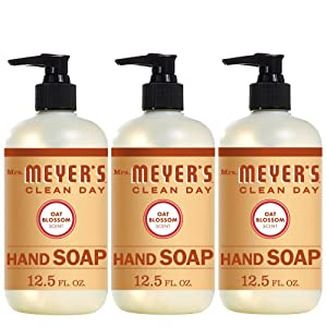 Mrs. Meyer's Liquid Hand Soap, Oat Blossom, 12.5 OZ