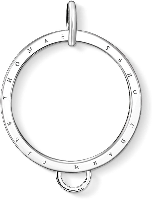 Thomas Sabo Women-Carrier circle gold Charm Club 925 Sterling silver