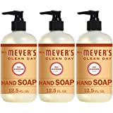 Mrs. Meyer's Clean Day Liquid Hand Soap, Cruelty Free and Biodegradable Hand Wash Made with Essential Oils, Oat Blossom Scent