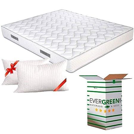 Evergreenweb Materassi.Evergreenweb Materasso Matrimoniale 160x190 In Waterfoam Alto 20