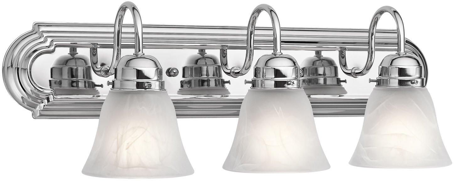 Kichler 5337CH Bath 3-Light, Chrome