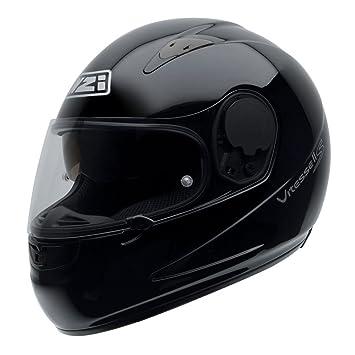NZI 010232G047XS Vitesse II S Duo Casco de Moto, Negro, Talla XS