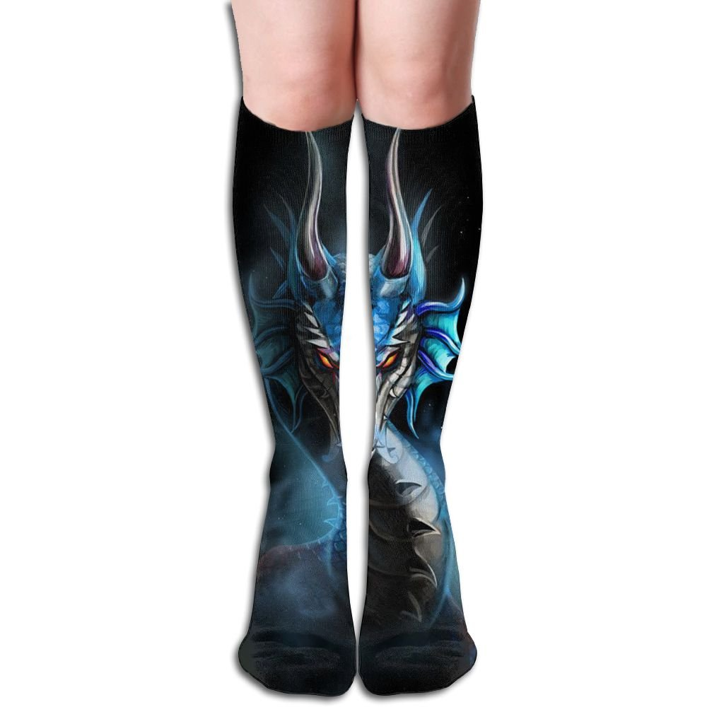 Amazoncom Unique Dragon Animal Knee High Socks Athletic Tube Socks