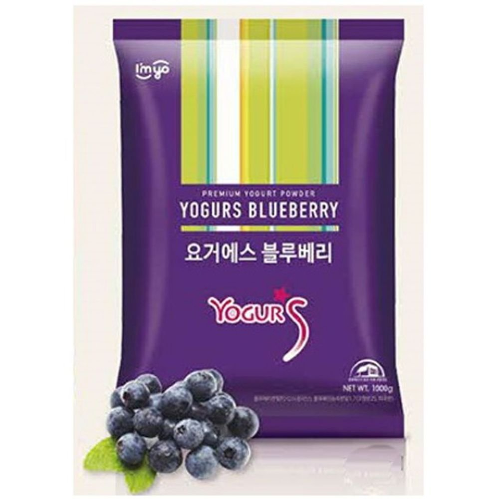 Imyo Yogurs Blueberry Powder 1Kg Yogurt