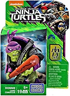 Mega Bloks Teenange Mutant Ninja Turtles: out of The Shadows Building Kit, Styles May
