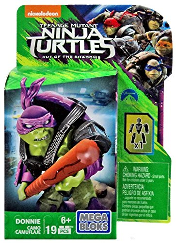 Styles May Vary Mattel DPW13 Out of the Shadows Building Kit Mega Bloks Teenange Mutant Ninja Turtles